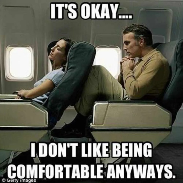 Airplane Travel Meme