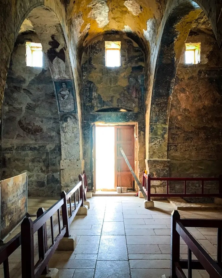 Inside Quseir Amra