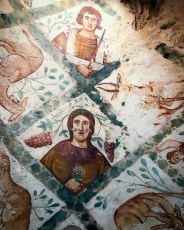 Murals at Quseir Amra
