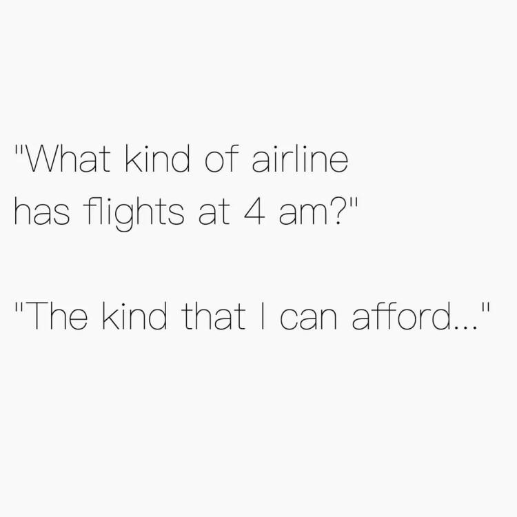 Flight Travel Meme