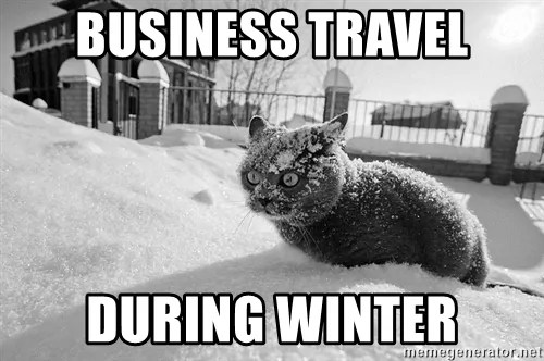 business travel meme
