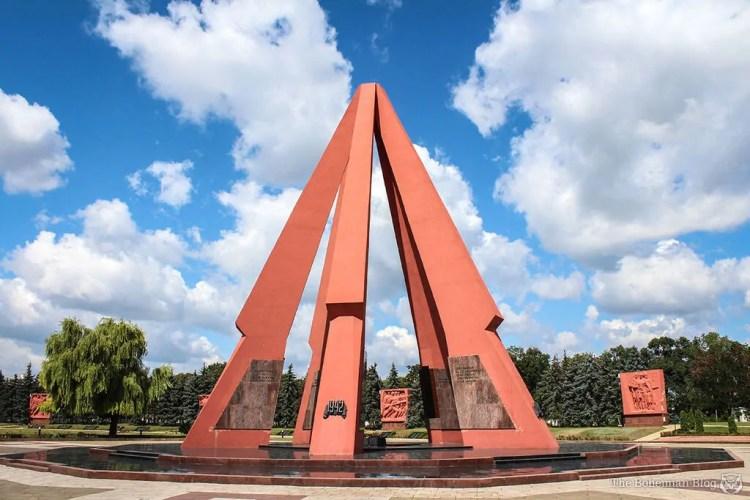 Moldovan Monuments: Victory Memorial