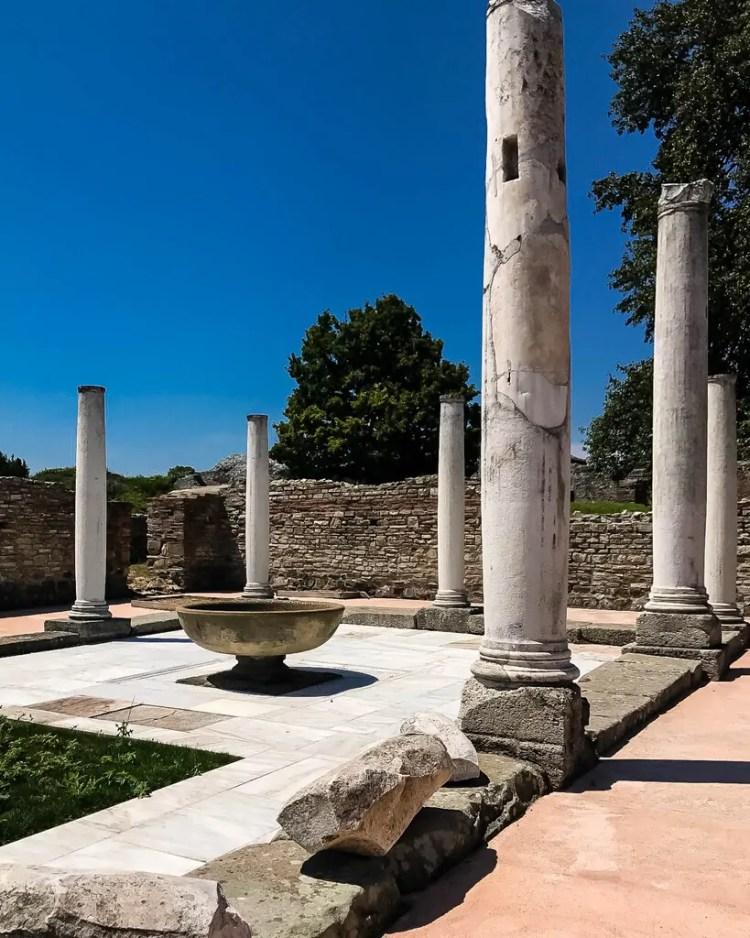 Columns at Gamzigrad-Romuliana