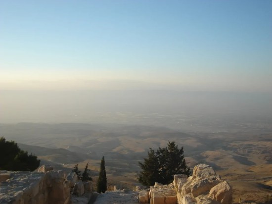 View from Mount Nebo
