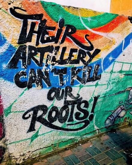 Grafitti in Ramallah