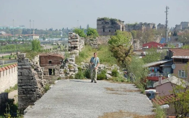Up on the Theodoisan Walls