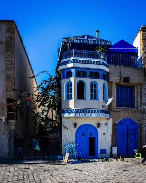 The entrances to the Bizerte Medina