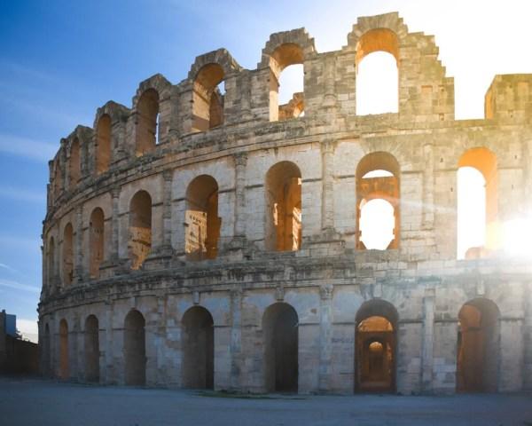The Amphitheater of El Jem