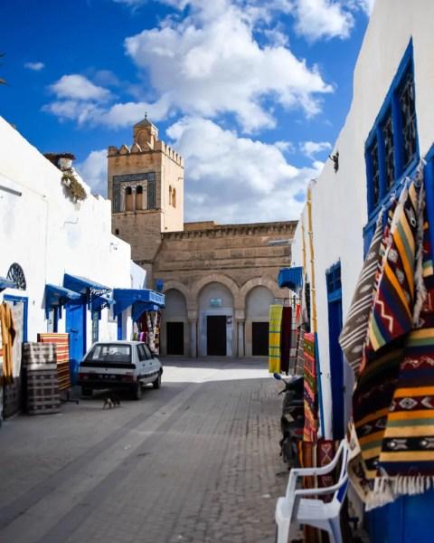 The Mosque of the Three Doors in Kairouan