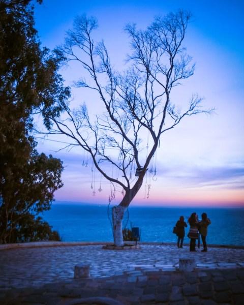 Sunset in Sidi Bou Said
