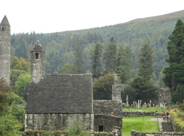The Monastic Ruins of Glendalough