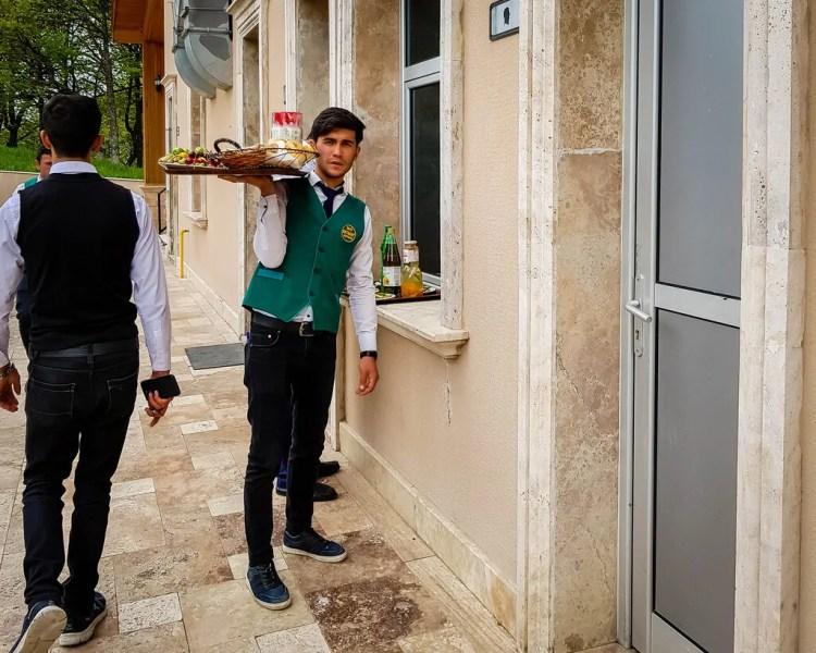 Azerbaijan - Batabat - Azeri Waiter