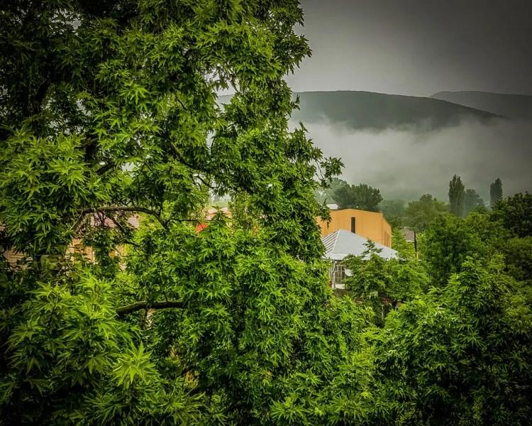Azerbaijan - Sheki - Misty Mountains