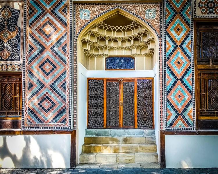 Azerbaijan - Sheki - Palace of the Shaki Khans