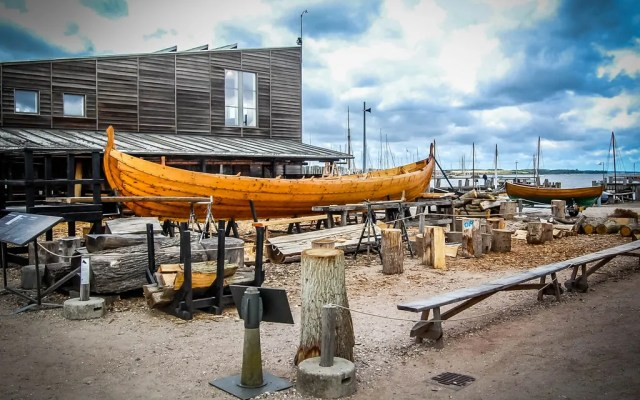 Sail in a replica Viking Ship in Roskilde, Denmark