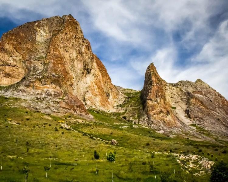 Azerbaijan - Gobustan Rock Art - A Mountain Goat