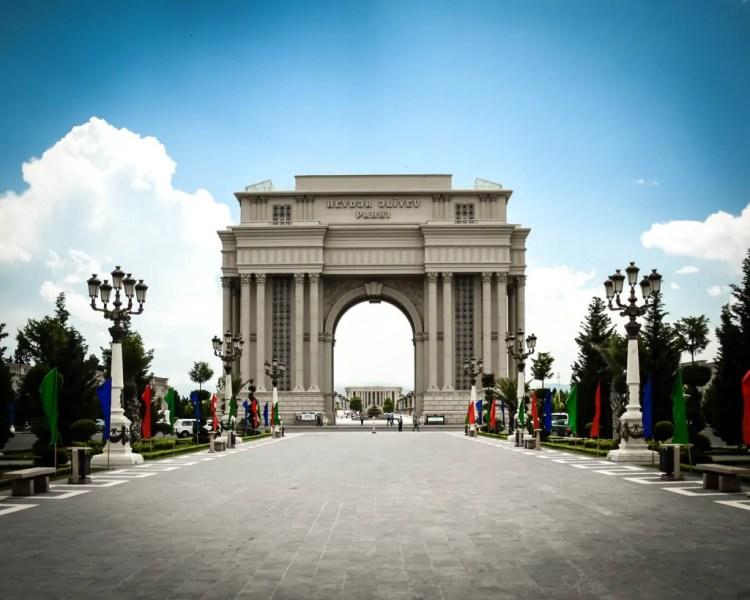 Azerbaijan - Ganja - Heyday Aliyev Park