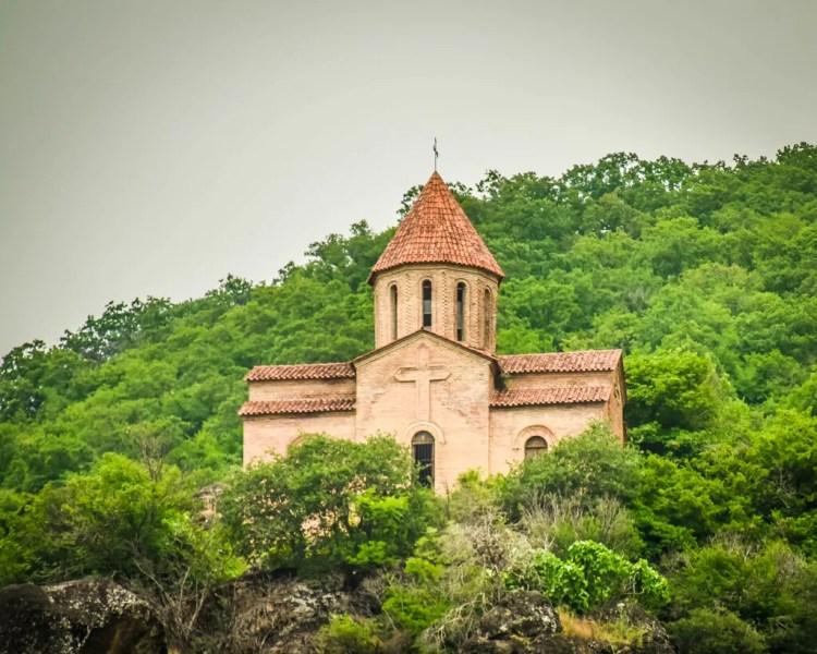Azerbaijan - Kurmuk - Church