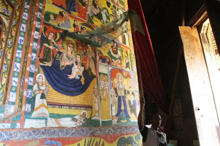 Ethiopia - Lake Tana - Debre Maryam Monastery