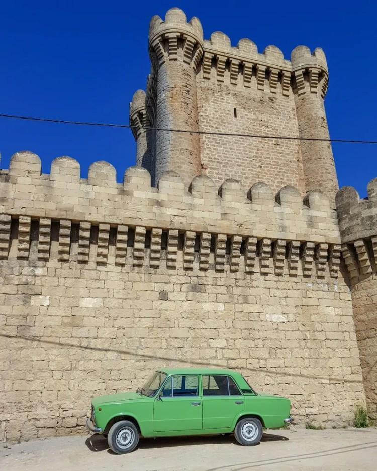 Azerbaijan - Baku - Car