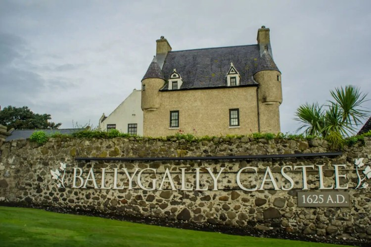 Ballygally Castle. Photo by Nienke Krook. Reused with Permission.