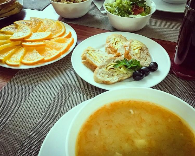Ukraine - Chernobyl - Lunch