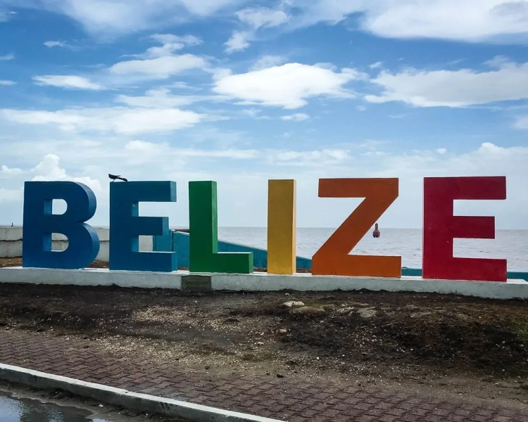 The iconic Belize sign can be seen on the drive from the ferry to the airport. Just ask your driver about it.