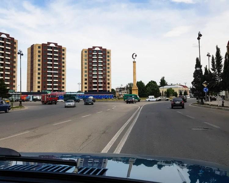 Azerbaijan - Ganja - Taxi Ride