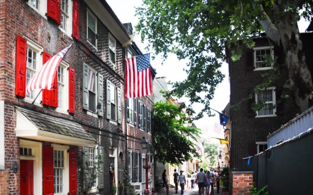 Philadelphia's Elfreth's Alley