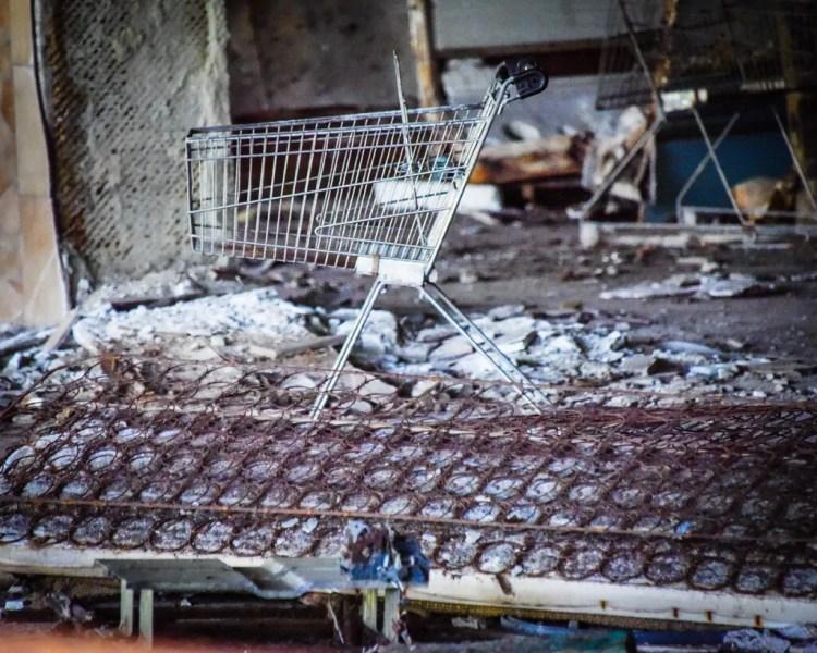 Chernobyl - Ukraine - Grocery Store