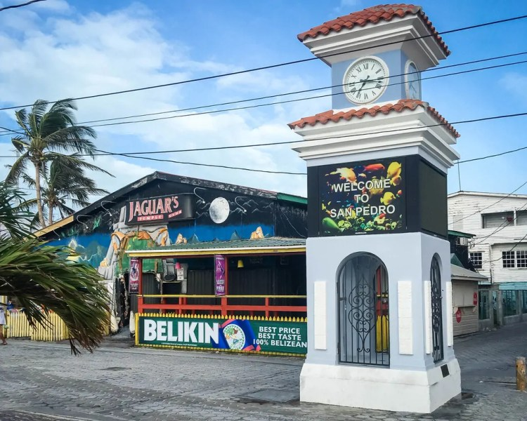 Belize - San Pedro - Clock Tower