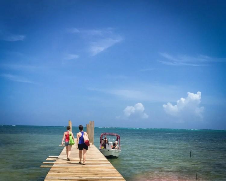 San Pedro Belize Snorkeling Boat