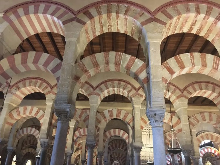 The Cordoba Mosque. Picture by Lori Fitzgibbons. Reused with Permission.