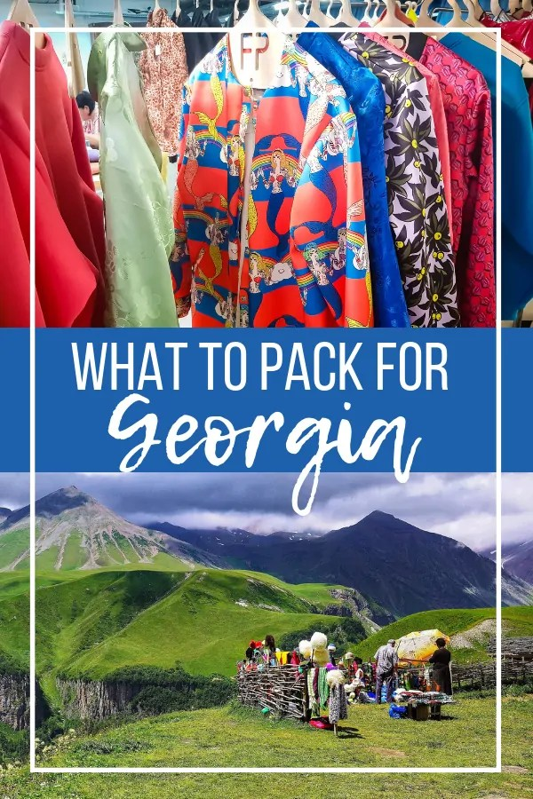 Georgia Packing List: What to Pack for Georgia for Women and Men