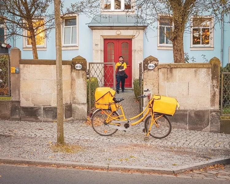 Germany - Dresden Neustadt - Mailman