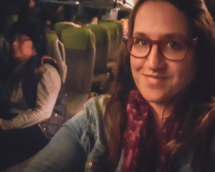 Germany - Dresden to Berlin - Flixbus Selfie