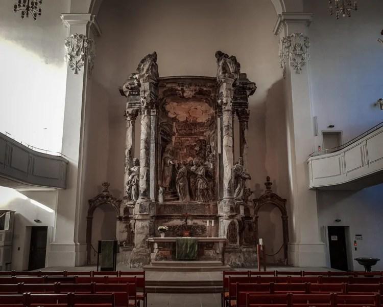 Germany - Dresden Neustadt - Dreikönigskirche Alter