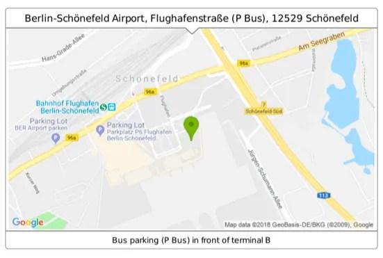 Germany - Berlin - Flik Bus Map
