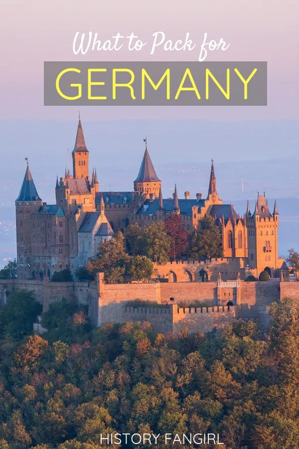What to Pack for Germany: the Ultimate Germany Packing List for Women & Men