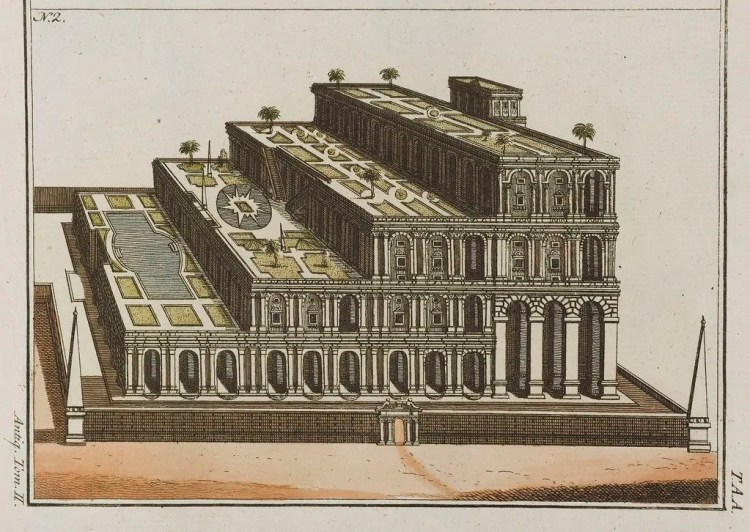 Hanging Gardens of Babylon - Wikimedia Commons