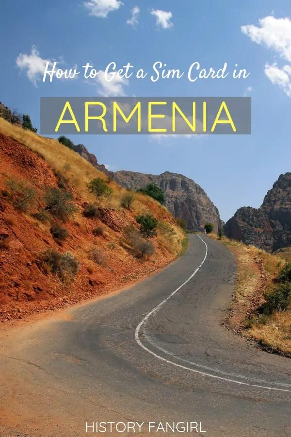 How to Get a Sim Card in Armenia
