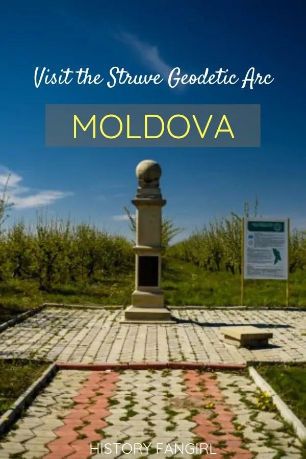 Hunting the Struve Geodetic Arc in Rudi, Moldova (UNESCO World Heritage Sites)