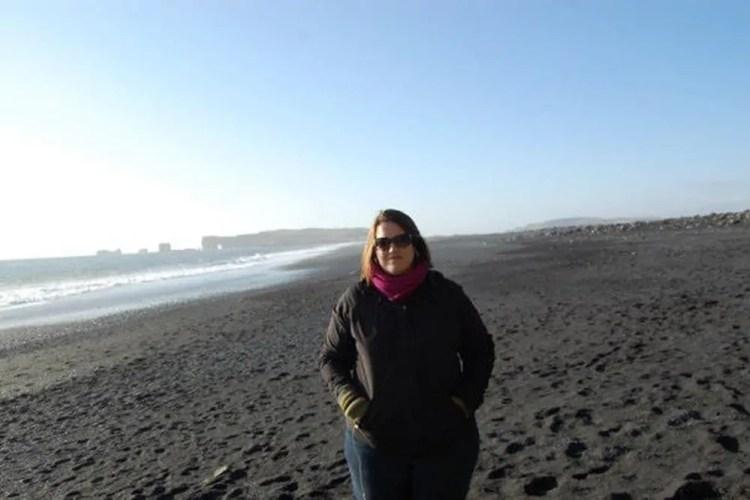 Iceland - Black Sand Beach - Vik - Stephanie