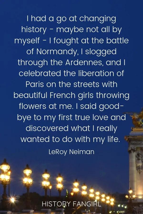 Adventure in Paris Quotes