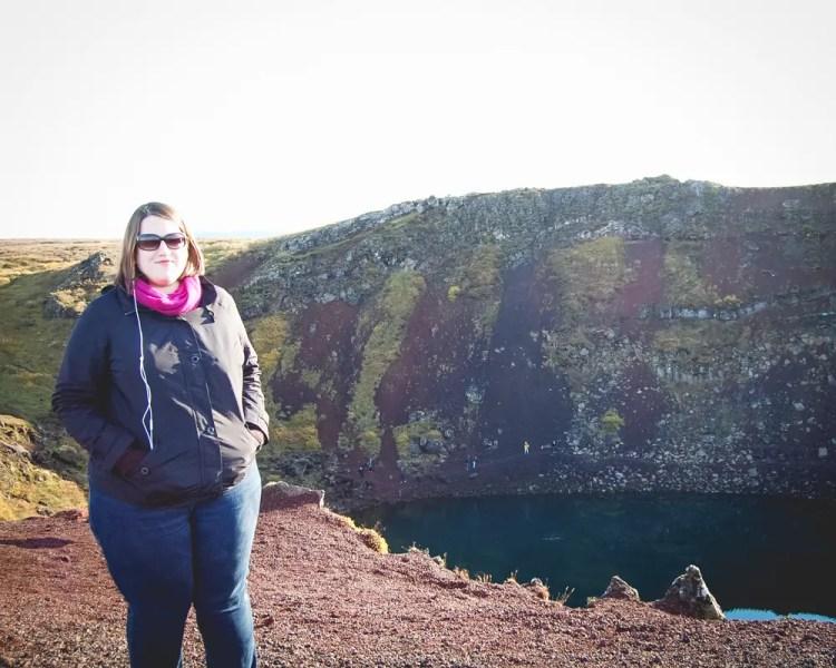 Iceland - Reykjavik - Kerið Volcanic Crater Lake Stephanie Craig