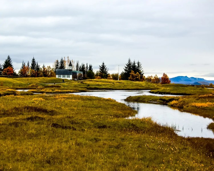 Iceland - Reykjavik - Thingvellir Church