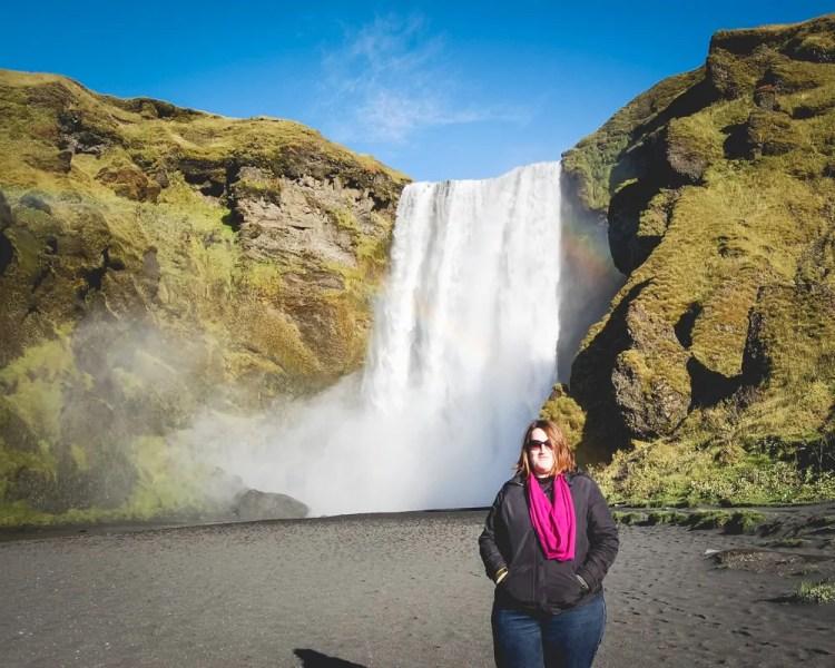 Iceland - Skogar - Skogafoss Stephanie