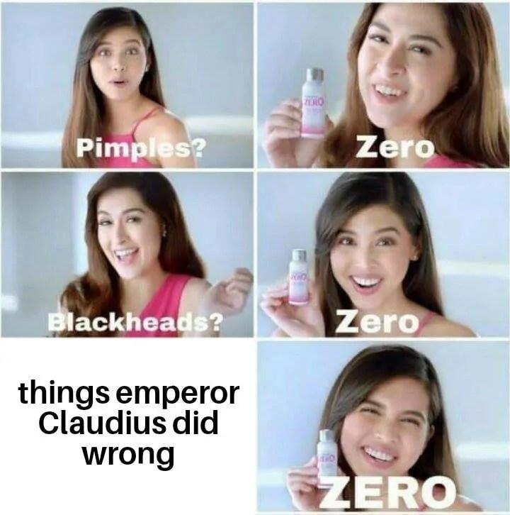 Emperor Claudius Meme