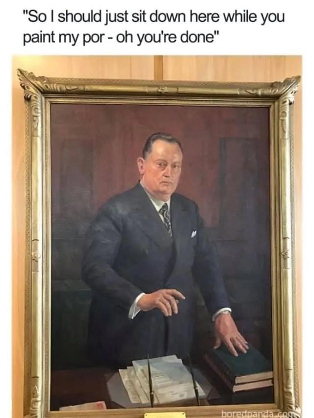 Portrait Painting Meme