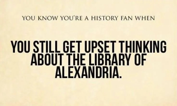 Library of Alexandria Meme